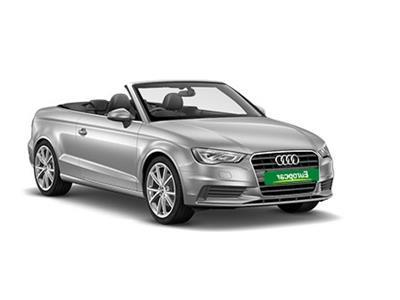 Category Convertible / SUV  - Europcar Guadeloupe - Audi A3 Cabriolet